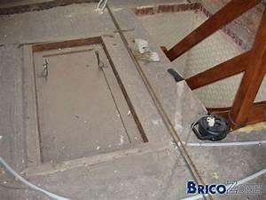 Trappe D Accès Comble : comment boucher une trappe d 39 acc s d 39 un escalier et faire un plafonnage ~ Melissatoandfro.com Idées de Décoration