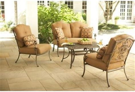 martha stewart living patio tables miramar ii 4