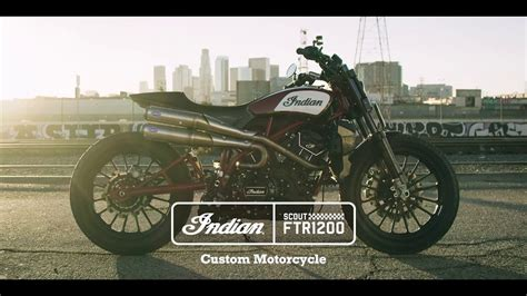 scout ftr1200 custom indian motorcycle
