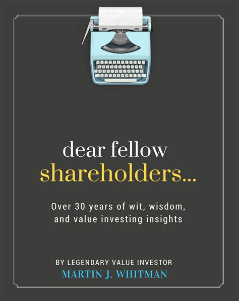 fellow investors cover letter dear fellow shareholders simple book production