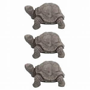 Online Shop Deko : jetzt kaufen deko tier figur schildkr te dunkelgrau klein 3 st ck der daro deko online shop ~ Orissabook.com Haus und Dekorationen