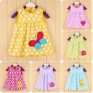 2016 Summer Baby Clothing GirlsDress Bebe vestidos Newborn ...