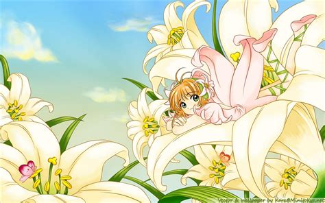 Anime Flower Wallpaper - animated flowers wallpapers wallpapersafari