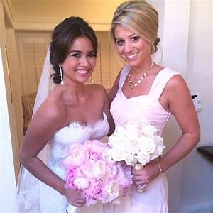 behind the scenes at the 39bachelor39 wedding bridesmaid With catherine lowe wedding dress