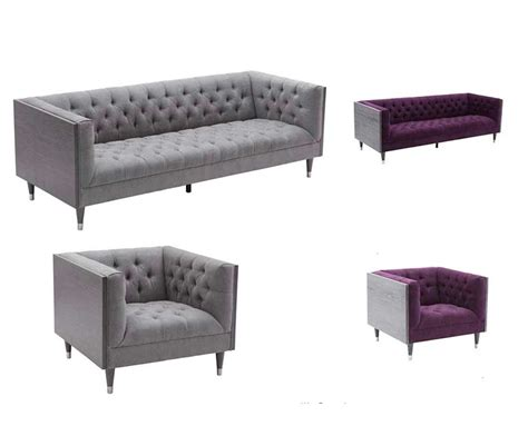 Purple Contemporary Sofa by Modern Purple Sofa Arl Beartiz Fabric Sofas
