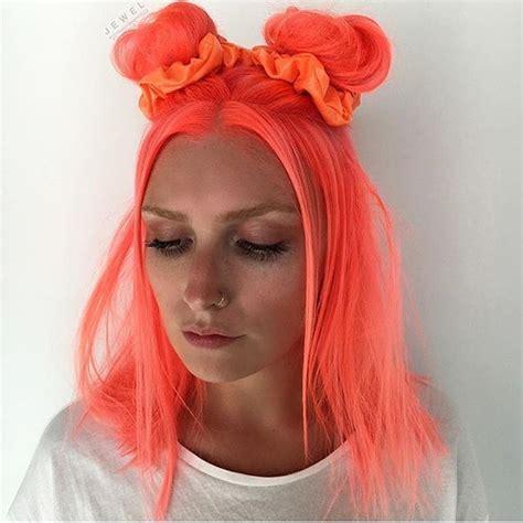 Neon Orange Hair Color By Thejesjewel Pulpriothair