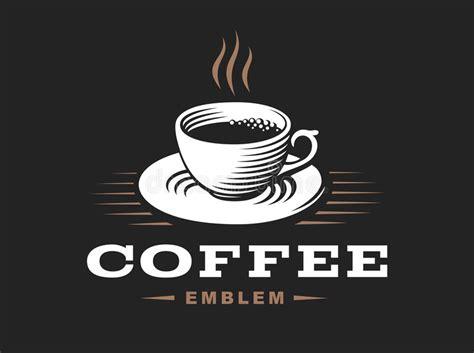 Vector Illustration, Emblem On Black Bialetti Coffee Maker Calgary Greene Bean Jefferson Can You Recycle Tassimo Pods Costa Sainsburys Medium Roast Reuse Express Vs Cuisinart