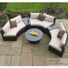 conservatory and garden furniture on
