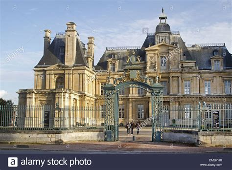 chateau of maisons laffitte built in the 17th century by francois stock photo royalty free