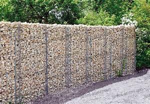 Mur En Gabion : mur gabion 210x110x20cm gabion mur et cage ~ Premium-room.com Idées de Décoration
