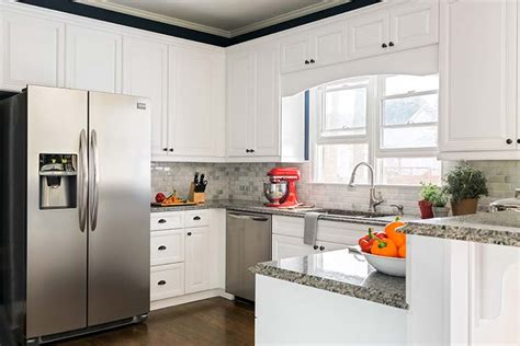 home depot kitchen cabinet refacing reviews my kitchen refacing you won t believe the difference