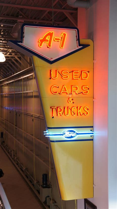 Spectacular 1950's Ford A-1 Used Cars and Trucks restored ...