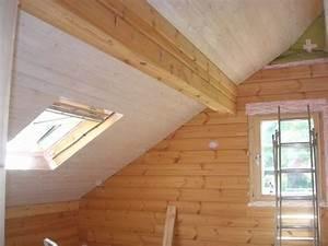 Poser Du Lambris Dans Les Combles : r alisations faux plafond ~ Premium-room.com Idées de Décoration