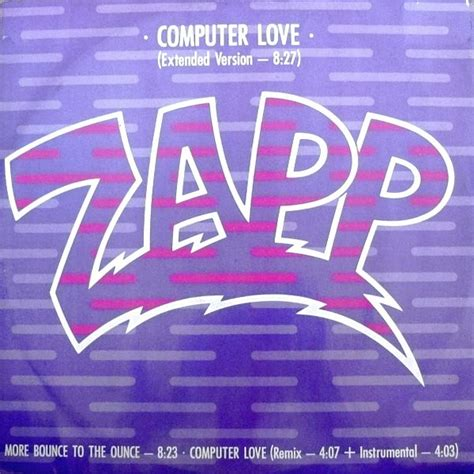 zapp computer love part  vinyl clocks