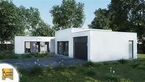 maisons moderne decouvrez nos plans et modeles With modele de jardin moderne 6 accueil cabanon 2000