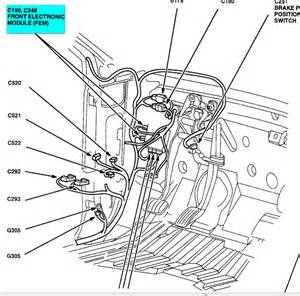 2000 ford windstar where is the front power window relay With power relay module