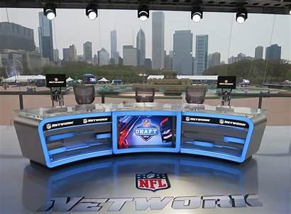 Nfl Draft Desk Network Backdrop Bigger Chicago