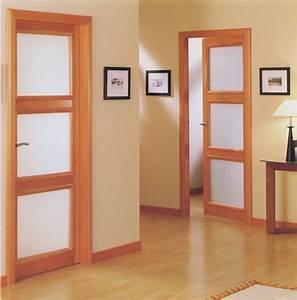 les portes de communication With porte de garage et porte interieur chambre
