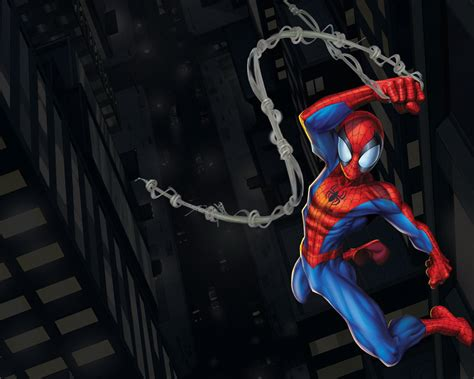 action  ultimate spider man wallpaper gallery