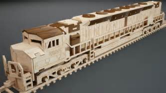 Free Plans For Wooden Toy Trains by Emd Locomotive Trains Makecnc Com
