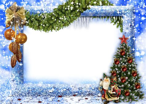 merry christmas picture frame free download