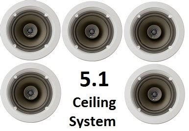 niles  ceiling mount surround sound system set