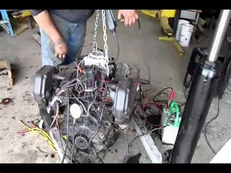 mercruiser marine   test run full throttle open