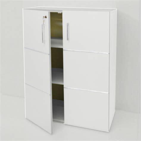 armoire bureau fermant à clé meuble rangement dossier