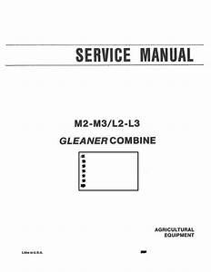Gleaner L2  L3  M2  And M3 Combine