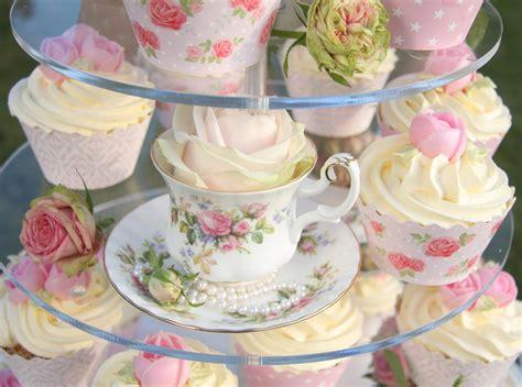 Vintage Cake, Cupcakes & Tea Cups