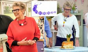 Bake Off Viewers Spot Prue39s Very Unusual Necklaces