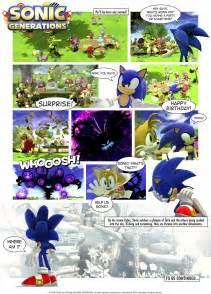 Sonic Generations Comic