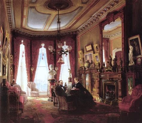 home interiors paintings it 39 s about 1800s families in their