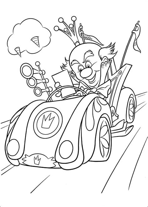 wreck  ralph coloring pages    print