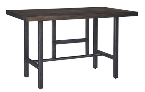 5-piece Counter Table W/ 2 Bar Stool And 2 Double Bar