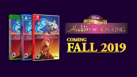 news disney classic games aladdin   lion king