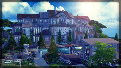 Sims Building A Mansion by The Sims 4 House Building The Edward Mansion