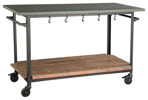 rolling kitchen island cart rolling console cart eclectic kitchen islands and