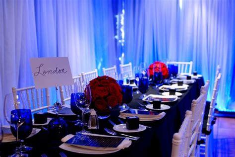 navy blue wedding table decorations the wedding like