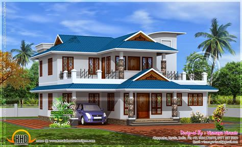 2350 sq home model in kerala home kerala plans