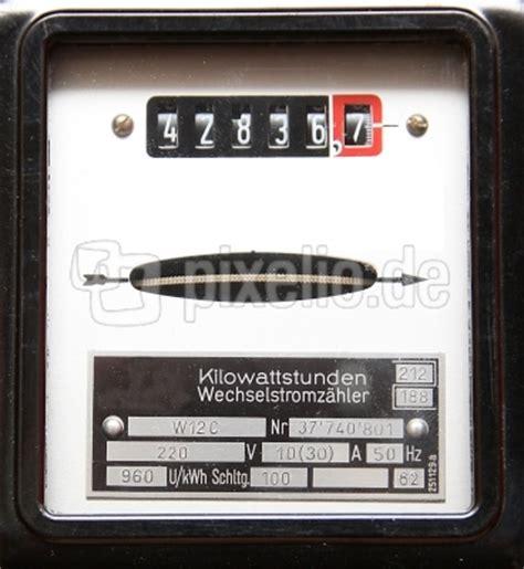 Nebenkostenabrechnung Strom Ohne Zähler by Kostenloses Foto Stromz 228 Hler Pixelio De