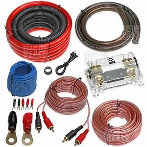 Quantum U00ae 1  0 Gauge Amp Kit Amplifier Wiring Install Wire