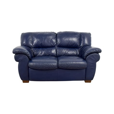 navy blue leather loveseat 80 macy s macy s navy blue leather loveseat sofas