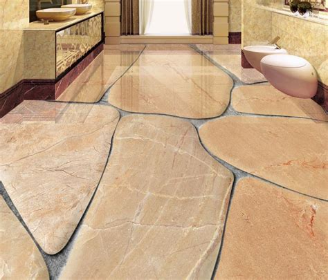 cobblestone tile flooring custom 3d flooring cobblestone self adhesive wallpaper 3d floor tiles waterproof wallpaper 3d