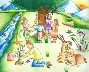 Save Earth Painting by Tanmay Singh