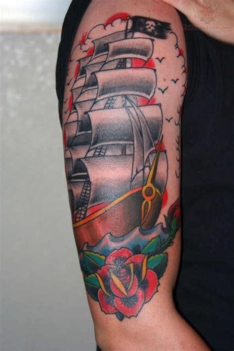 idees tatouage pirate  labordage en