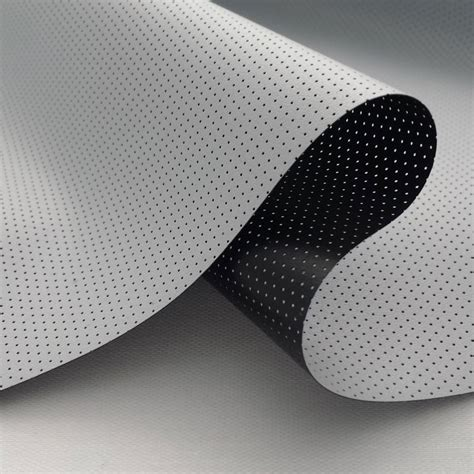 carls nano perforated acoustic flexigray projector screen