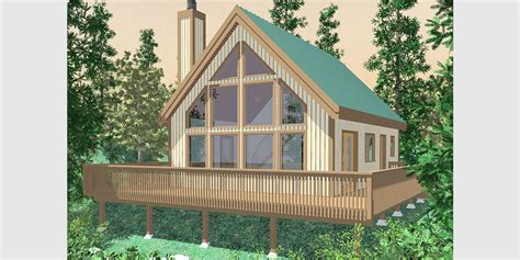 a frame house plan a frame house plans with steep rooflines