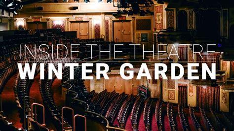 Restaurants Near Winter Garden Theatre by Step Inside Broadway S Winter Garden Theatre Playbill