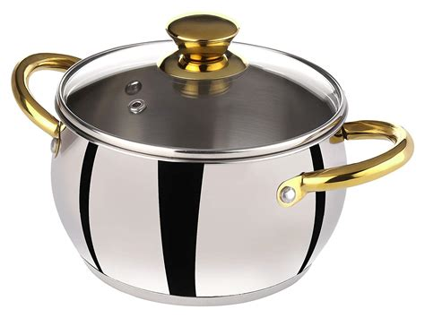 steel stainless brands cookware india brand indian cooking casserole bergner meyer quality range